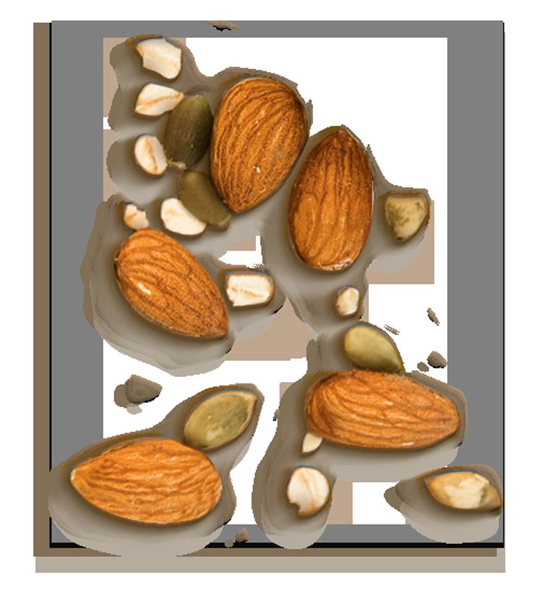 Almonds Seeds Oats
