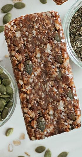 almond hemp seed bars
